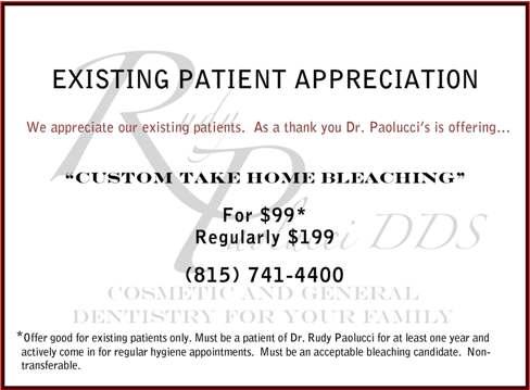 Existing Patient Promotion